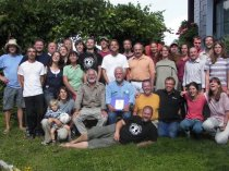 Noch im Sommer davor hatten wir die Gelegenheit Joe zu unserem Permakultur-Designkurs in Wels begrüßen zu dürfen